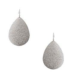 Erica Lyons® Teardrop Pierced Earrings