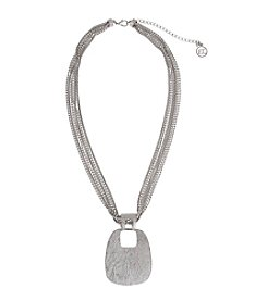 Erica Lyons® Short Pendant Necklace