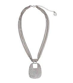 Erica Lyons® Short Pendant Necklace