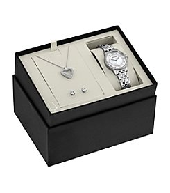 Bulova® Women's Crystal Collection Watch Set