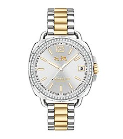 COACH Tatum Two Tone Sunray Dial Watch