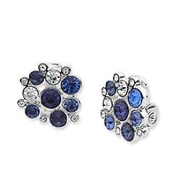 Anne Klein® Clip On Button Earrings