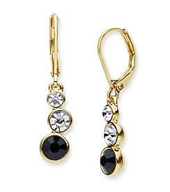 Anne Klein® Goldtone Drop Earrings