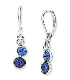 Anne Klein® Blue Drop Earrings