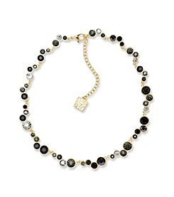 Anne Klein® Jet Collar Necklace