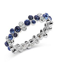 Anne Klein® Blue Stretch Bracelet