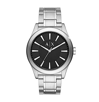 AX Armani Exchange Stainless Steel Sunray Dial Watch