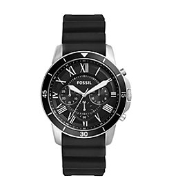Fossil® Grant Sport Chronograph Silicone Strap Watch