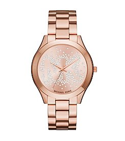 Michael Kors® Slim Runway Three Hand Watch
