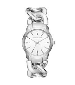 Michael Kors® Elena Stainless Steel Three Hand Watch