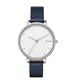 Skagen Hagen Leather Watch
