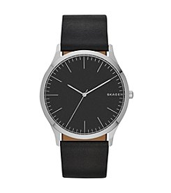 Skagen Women's Jorn Leather Watch