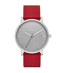 Skagen Hagen Watch With Silicone Strap