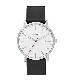 Skagen® Hagen Silicone Strap Watch