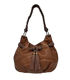 GAL Washed Braid Trim And Tassel Hobo