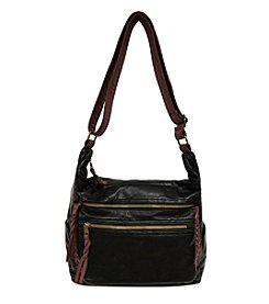 GAL Washed Braid Trim Crossbody