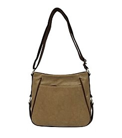 GAL Textured Two Tone Crossbody