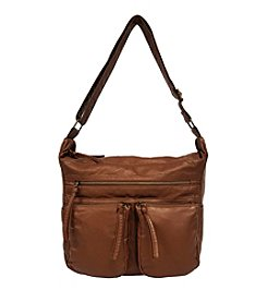 GAL Washed Pocket Hobo Crossbody