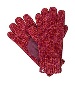 Isotoner® Signature Chenille Marled Knit Gloves