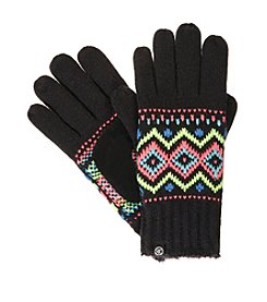 Isotoner® Signature Traditional Fair Isle Knit smarTouch® Gloves