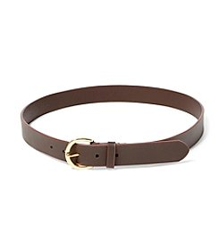 Lauren Ralph Lauren® Textured Leather Belt