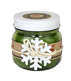 Deco Glow 5-oz. Winter Woods Holiday Mason Jar Candle