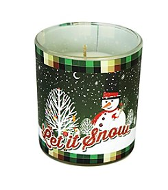 Deco Glow Let It Snow Scentament Candle