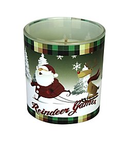 Deco Glow Reindeer Games Scentament Candle