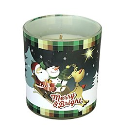 Deco Glow Merry & Bright Scentament Candle