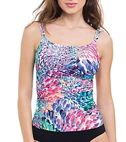 Profile by Gottex® Brush Stroke Tankini Top