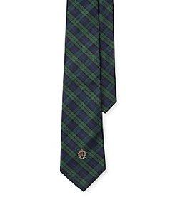 Lauren Ralph Lauren® Signature Crest Tartan Silk Tie