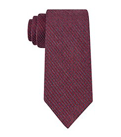 Calvin Klein Red Hot Grid Pattern Tie