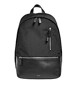 Skagen® Kroyer Nylon and Leather Backpack