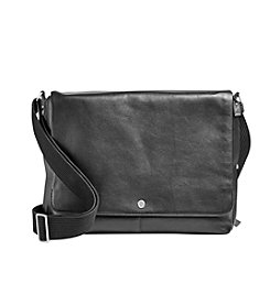 Skagen® Eric Leather Messenger Bag
