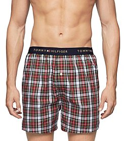 Tommy Hilfiger® Men's Cardinal Woven Boxers