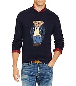 Polo Ralph Lauren® Men's Polo Bear Cotton-Blend Sweater