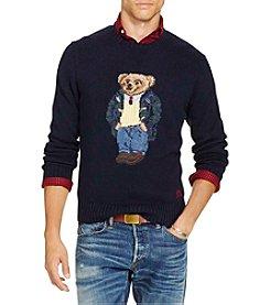 Polo Ralph Lauren® Men's Polo Bear Cotton-Blend Sweater