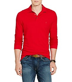 Polo Ralph Lauren® Men's Custom-Fit Long Sleeve Polo Shirt