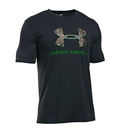 Under Armour® Men's Camo Filled Logo Short Sleeve Tee
