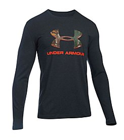 Under Armour® Men's Camo Logo Long Sleeve Tee