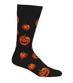 Hot Sox® Pumpkins Dress Socks