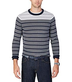 Nautica® Men's Jacquard Crew Sweater