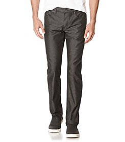 Perry Ellis® Men's Slim Fit Lightweight Textured Denim