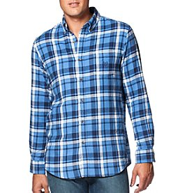 Chaps® Men's Long Sleeve Button Down Flannel Shirt