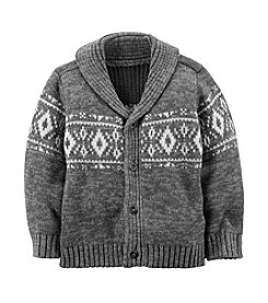 Carter's® Boys' 2T-8 Shawl Collar Cardigan