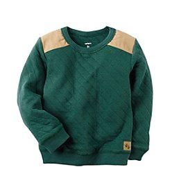 Carter's® Boys' 2T-8 Quilted Sweatshirt
