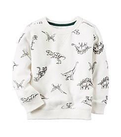 Carter's® Boys' 2T-8 Dinosaur Sweatshirt
