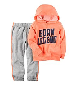 Carter's® Boys' 2T-4T 2-Piece Born Legend Hoodie and Joggers Set