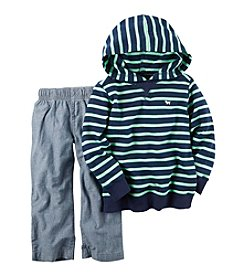 Carter's® Boys' 2T-4T 2-Piece Striped Hoodie and Pants Set