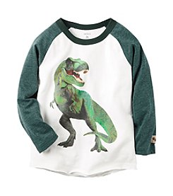 Carter's® Boys' 2T-8 Part T-Rex Raglan Tee